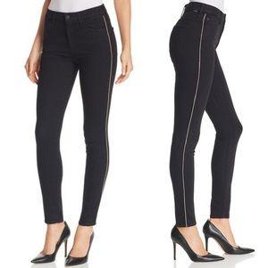 NWT Looker High Waist Jeans Metallic Stripe